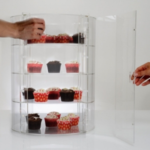 acrylic dessert display cabinet