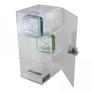 acrylic Mobile Phone Accessories Display Cabinet