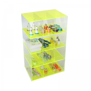 Acrylic cell phone accessories display stand