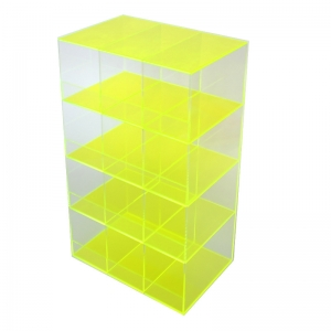 Spinning acrylic cell phone display cabinet