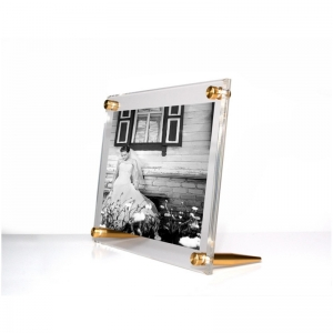 acrylic counter top photo frame