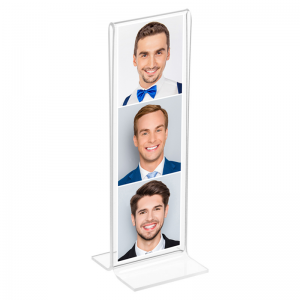 acrylic photo booth frame