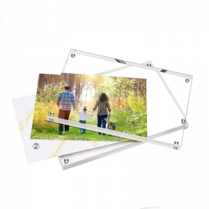 8*11 acrylic picture frame