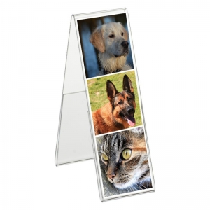 acrylic frameless photo frame
