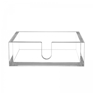 clear acrylic napkin holder