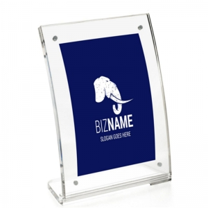 curved perspex photo frame