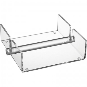 factory transparent pmma towel rack clear acrylic luncheon napkin holder