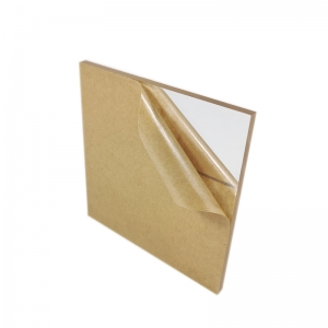 high transparency 6mm thick clear acrylic sheet with Kraft paper