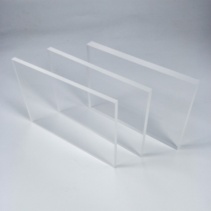 Clear 6mm cast acrylic sheets perspex plate in stock