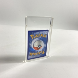 acrylic game card holder