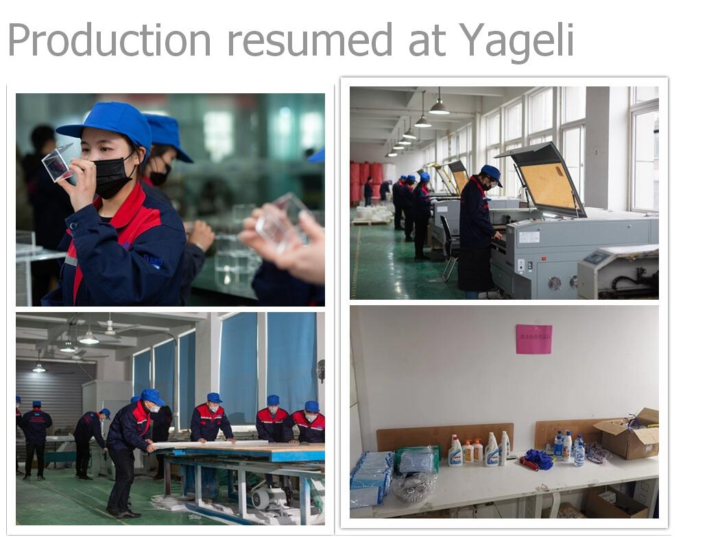 Production resumed at Yageli