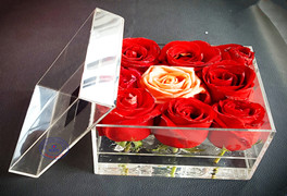 acrylic flower box customer comments